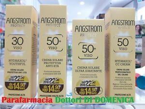 ANGSTROM Protect Protezione Solare Crema Viso Anti Età CC Cream SPF 30 50+