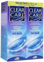 Clear Care Ciba Vision Contact Lens Solution - Value Pk - (2) 12oz. (3 Pack)