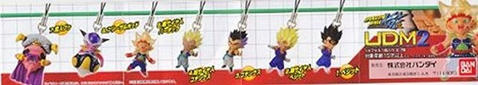 Bandai Dragon Ball Z Kai UDM2 Ultimate Deformed Mascot Phone Charm-2 SS Gotenks