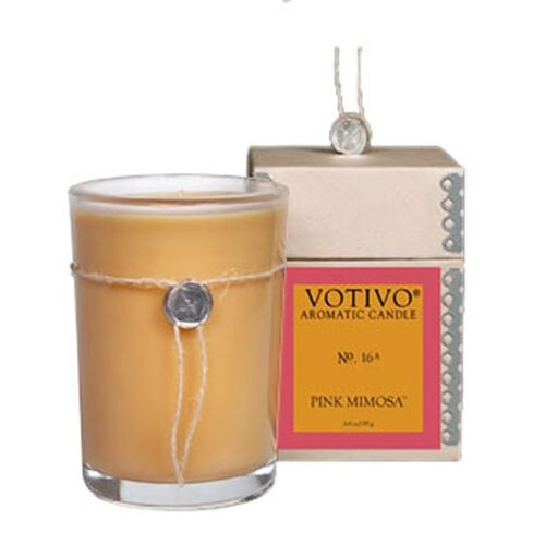 Votivo Multi-Scent Aromatic Candles Red Currant Honeysuckle Teak Pink Mimosa