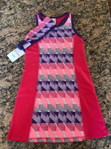 Gymboree Girls Racerback Geometric active wear Dress w Headband NWT GYM12