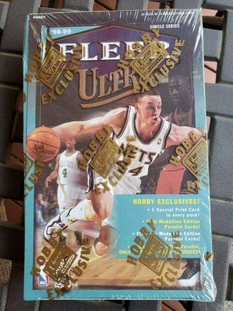 1998-99 Fleer Ultra Factory Sealed Hobby Box 1 Special Card Per Pack