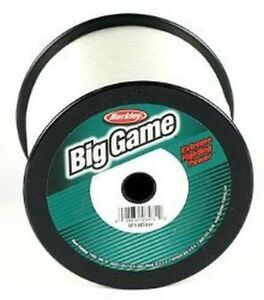 BERKLEY TRILENE BIG GAME 1LB SPOOL 12-80LB Test - CLEAR