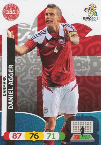 DANIEL AGGER # DENMARK CARD PANINI ADRENALYN EURO 2012