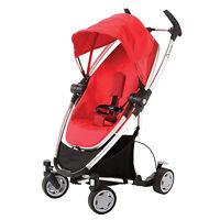 Quinny Zapp Xtra Folding Seat Stroller In Rebel Red