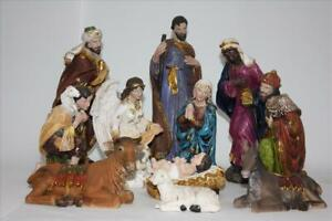 Delux-Religious-Nativity-Figure-Set-For-Christmas-Decoration-11-Pieces-12-039-039-30c