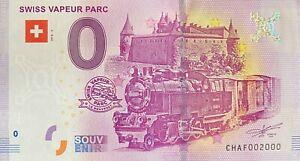 BILLET-0-EURO-SWISS-VAPEUR-PARK-SUISSE-2018-NUMERO-2000