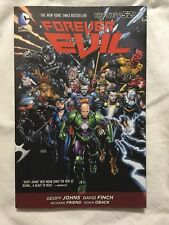 Forever Evil by Geoff Johns (2015, Paperback)