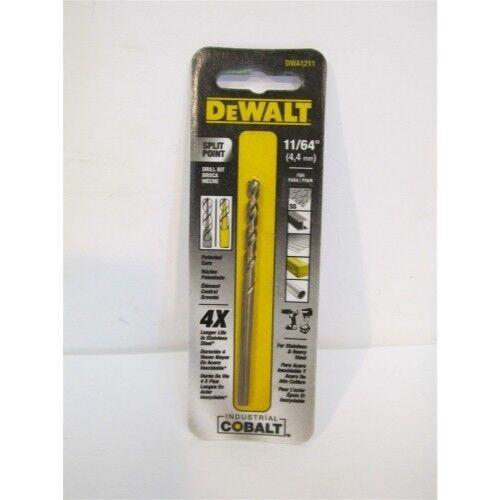 "DEWALT DWA1211 11//64/"" Pilot Point Industrial Cobalt Drill Bit"