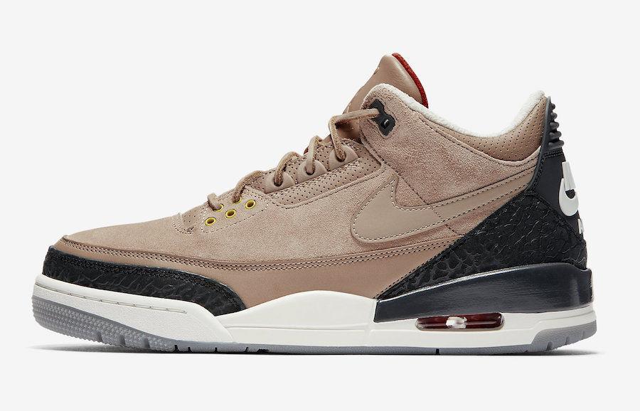 Nike Air Jordan 3 JTH size 12.5. NRG Bio Beige Tinker .AV6683-200. timberlake