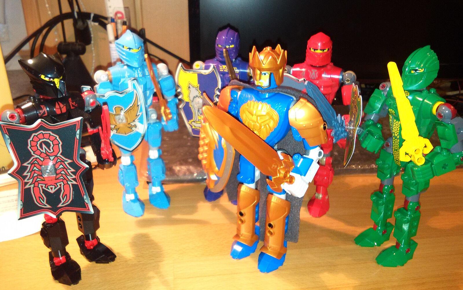 LEGO Knight´s Kingdom King Mathias, Santis, Rascus, Danju, Jayko und Vladek