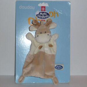 Doudou-Vache-Mots-d-039-enfants-Neuf