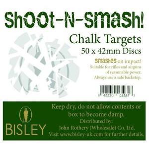 Bisley-Craie-Objectifs-Shoot-N-Smash-42mm-Boite-de-50