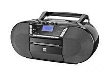 DUAL P-200 Portable CD-USB-Kassettenabspieler-DAB(+)Digitalradio-FM-AUX-in DAB+