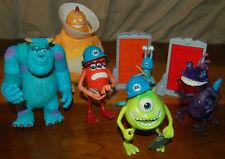 Disney Pixar 2001 Hasbro Monsters Inc. Talking Figures Lot Mike Sulley Randall