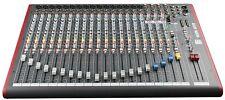 Allen and Heath ZED-22FX mint 22-Channel Mixer Board w/ USB & Effects -Dealer-