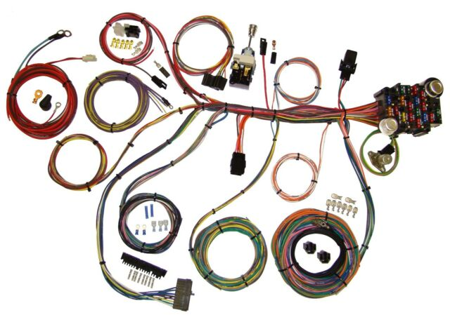 American Autowire Power Plus 20 Circuit Wiring Harness Kit