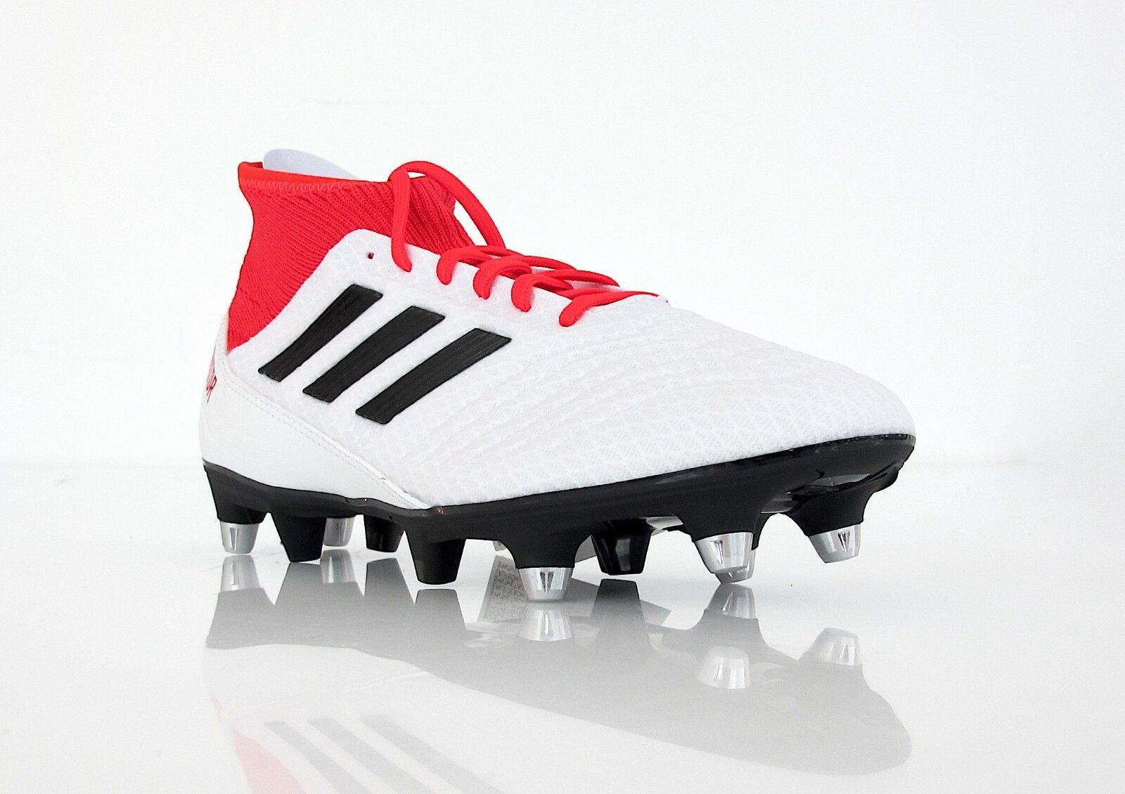 Adidas Adidas Adidas Schuhe Fußball protator 18.3 SG CP9305 col.bianco rot Januar 2018  | Zarte  4b9f1a