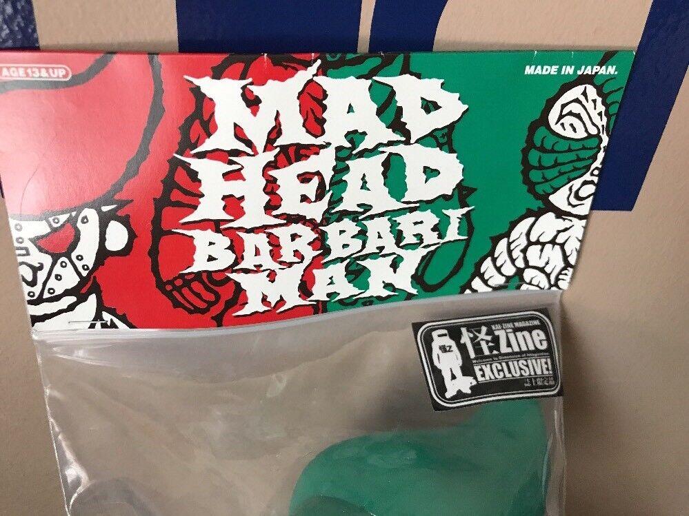 Real head X Mad Barbarian Kaiju Zine Exclusive Exclusive Exclusive Invasion Your mad head barbari 9c2378