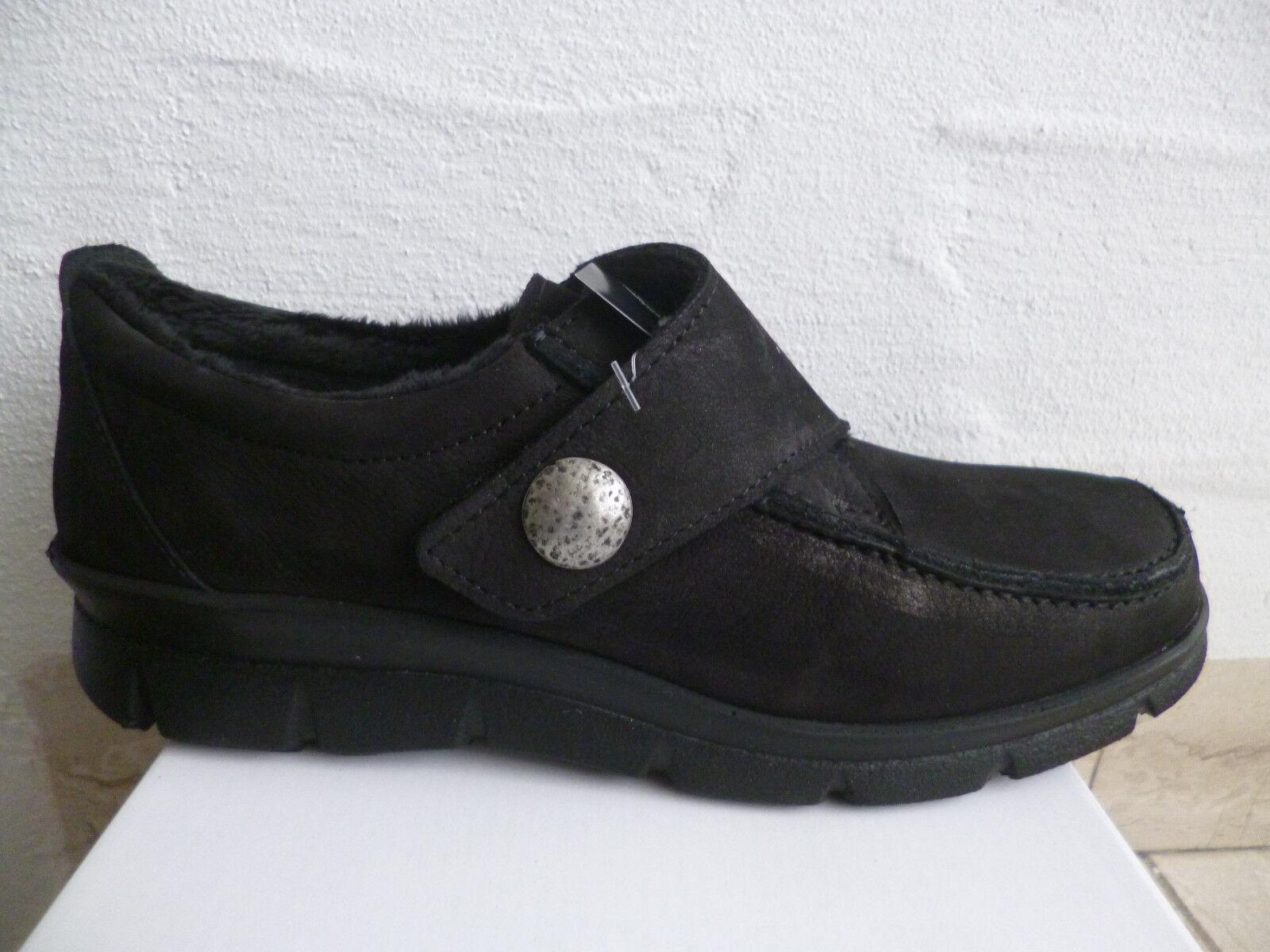 Frankenschuhe Damen Slipper  Halbschuhe, Sneakers, schwarz Leder  Slipper NEU b7a643