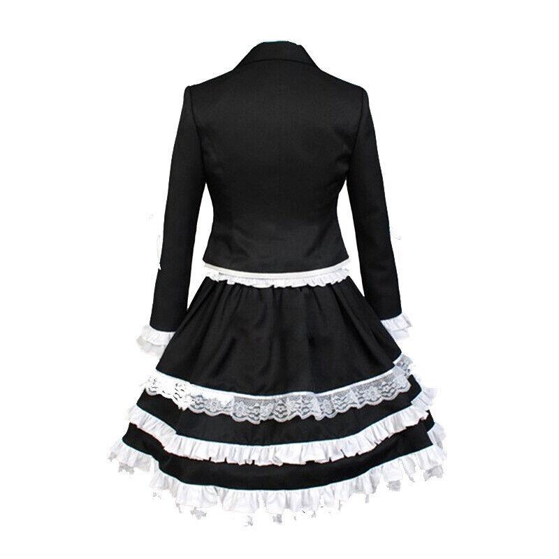 Celestia Ludenberg - Black Gothic Lolita Gown Dangan Ronpa Cosplay Costume  for sale online   eBay