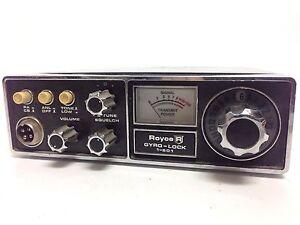 Vintage Royce Gyro-Lock CB Radio 1-601