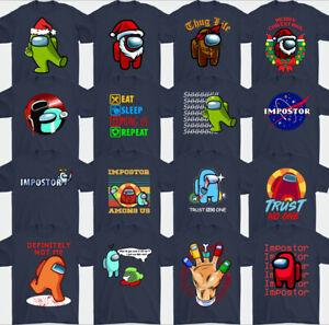 Parmi US T-Shirt,Impostor,Jeux,Joueur,Imposteur,Hommes,Garçons,Enfants T-Shirt