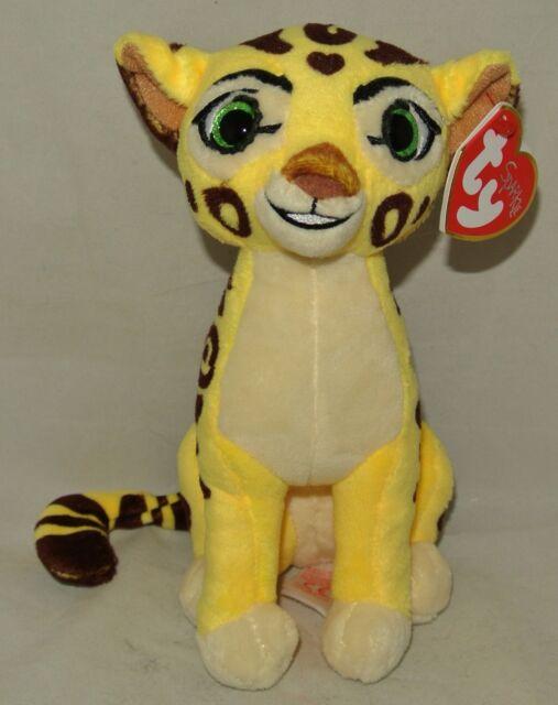 Ty 2016 Disney The Lion Guard Fuli Cheetah Sparkle Beanie Babies 7 ... a0a1066b46d6