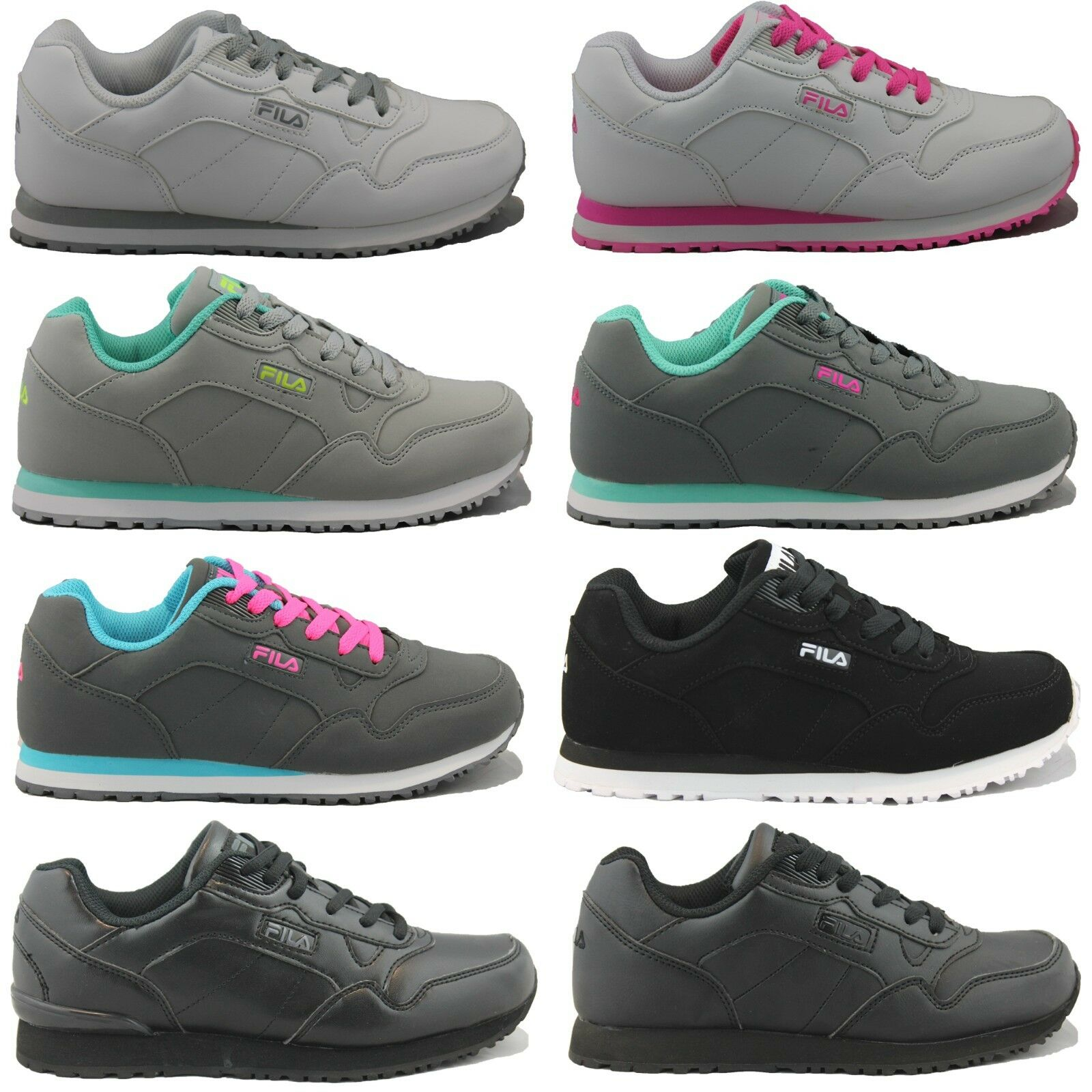 Womens FILA Cress Casual Athletic Classic Retro Silhouette Shoes Sneakers NEW Great discount