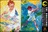 Leroy Neiman Poster The Challenge Tennis Make An Offer