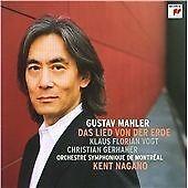 1 of 1 - Mahler: Das Lied Von Der Erde (2009). Kent Nagano/OSdM. Sony CD