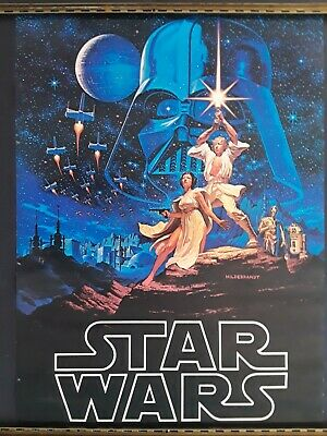 """New Art Print Of Movie Poster 1977 /""""Star Wars IV A New Hope/"""""""
