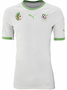 Image is loading Algeria-National-Team-Soccer-Jersey-Puma-Top-Football- 179653878