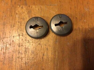 Shimano Plastic Bicycle Crankset Dust Bolt Covers Crank Bolt Cover Cap