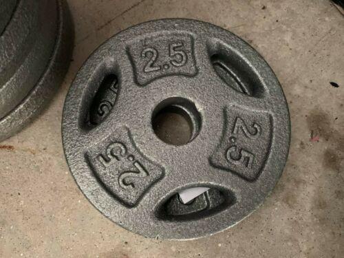 *FREE SHIPPING* CAP Weight Plates 25lb Dumbbell Handles 5lb /& 2.5lb 10lb