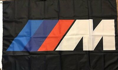 BMW Flag Automotive Shop Garage Man Cave Im Power Racing Banner 58x17 inches