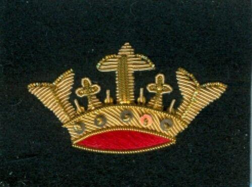 Dänemark:Barettabzeichen,handgestickt. .. 51