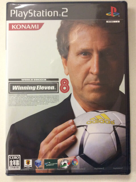 World Soccer Winning Eleven 8 [JAPAN IMPORT] PS2 Sony Playstation 2
