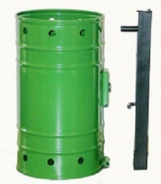 Abfallbehälter   Mülleimer Typ 1 - Wandhalterung