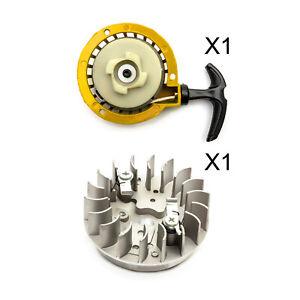 Mini-Moto-Easy-Start-Yellow-Pull-Start-Pullstart-Flywheel-Minimoto-Quad-Bike