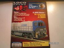 **d Loco revue n°662 TrainZ simulateur G 2000 Mehano H0 1-130 B 476 Magrou en 0
