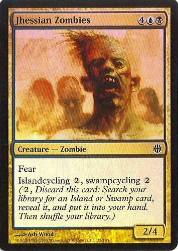 Jhessian Zombies Alara Reborn NM MTG 2X Foil