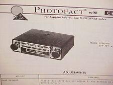 clarion dxz615 xdz616 fm cd car stereo original service repair rh ebay com