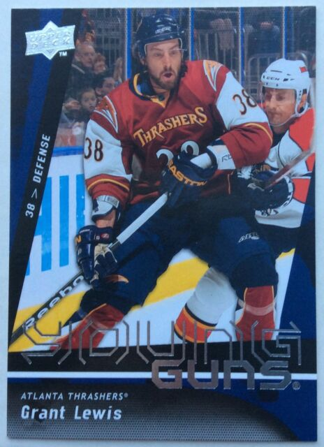 2009-10 GRANT LEWIS UPPER DECK SERIES 1 YOUNG GUNS RC #232 THRASHERS