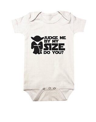 Funny Star Wars Yoda Baby Bodysuit   eBay