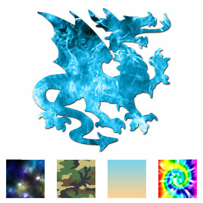 Multiple Color /& Sizes Dragon Heraldic ebn621 Vinyl Decal Sticker