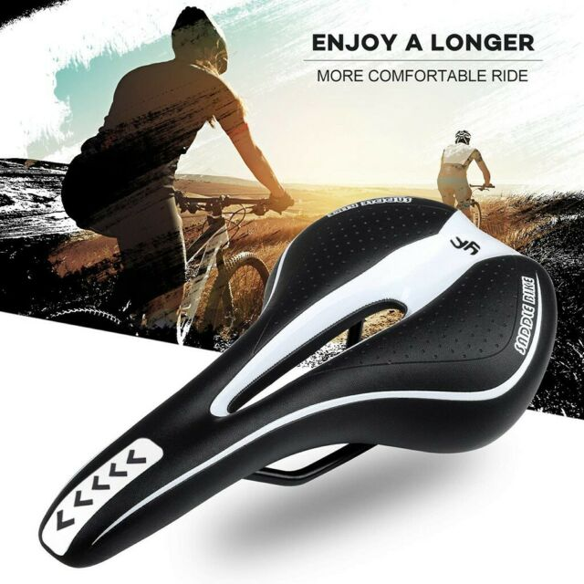 Carbon fiber MTB Road Mountain Bike Cycling Bicycle Saddle Fold Seat Breathable