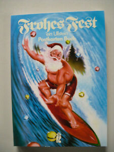 Weihnachtskarten Deutschland.Details Zu Postkarten Buch Weihnachten Weihnachtskarten Christmas Usa Deutschland