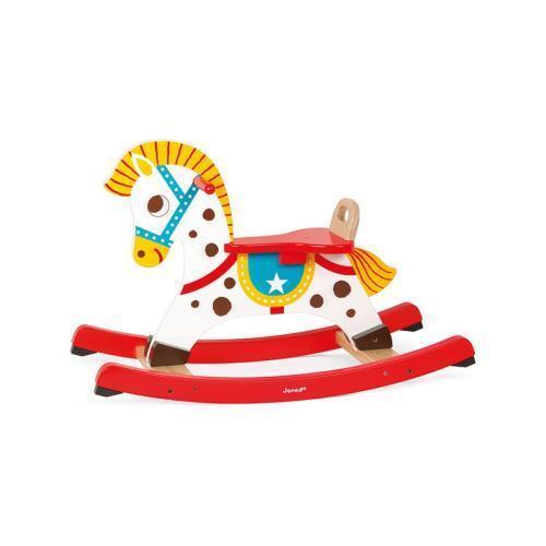 Jeux Jouet / Cheval en BOIS à bascule Punchy Janod / Enfant Fille Garçon Noel