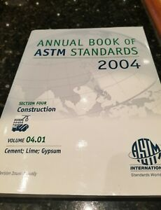 Details about Annual Book of ASTM Standards 2004 Section One Iron and Steel  Products Vol  1 06